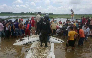 Seis personas fallecen en accidente de avioneta en Salitre, provincia de Guayas