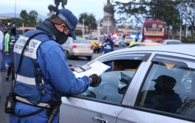 En Guayaquil se aplicará restricción de circulación para vehículos particulares desde las 22:00 hasta las 05:00 a partir del lunes 12 de abril