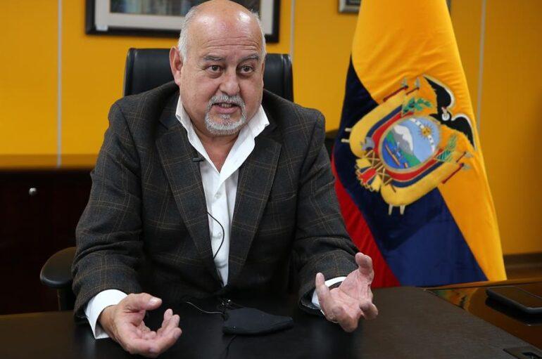 """Ministro Pozo: el 2020 fue """"el peor año"""" para la economía de Ecuador"""