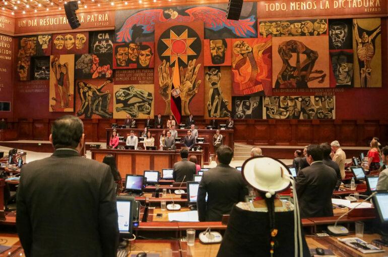 Última semana de funciones de la Asamblea Nacional
