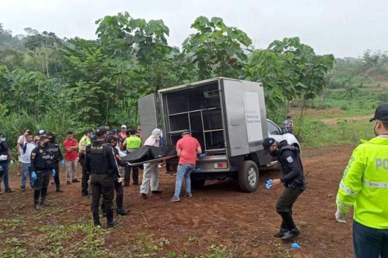 Masacre en Manabí, asesinan a 4 hombres y una mujer en zona rural