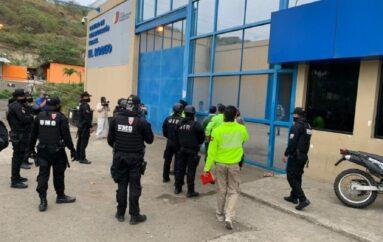 Un preso muerto y tres heridos en la cárcel de Manabí