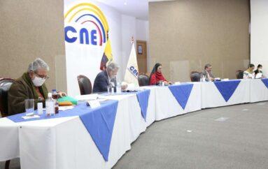 CNE colaborará en el plan de vacunación del nuevo Gobierno en Ecuador