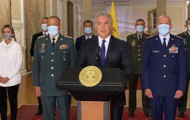 Presidente de Colombia envía militares a Cali por violencia en protestas