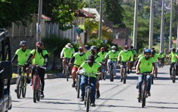 Se celebró con cicleada en Catamayo el día del medio ambiente