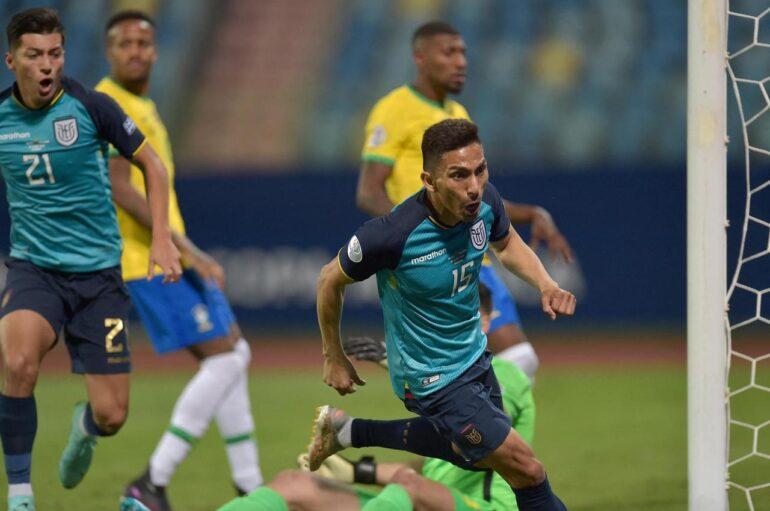 Ecuador clasifica a los cuartos de final de la Copa América tras empatar a Brasil
