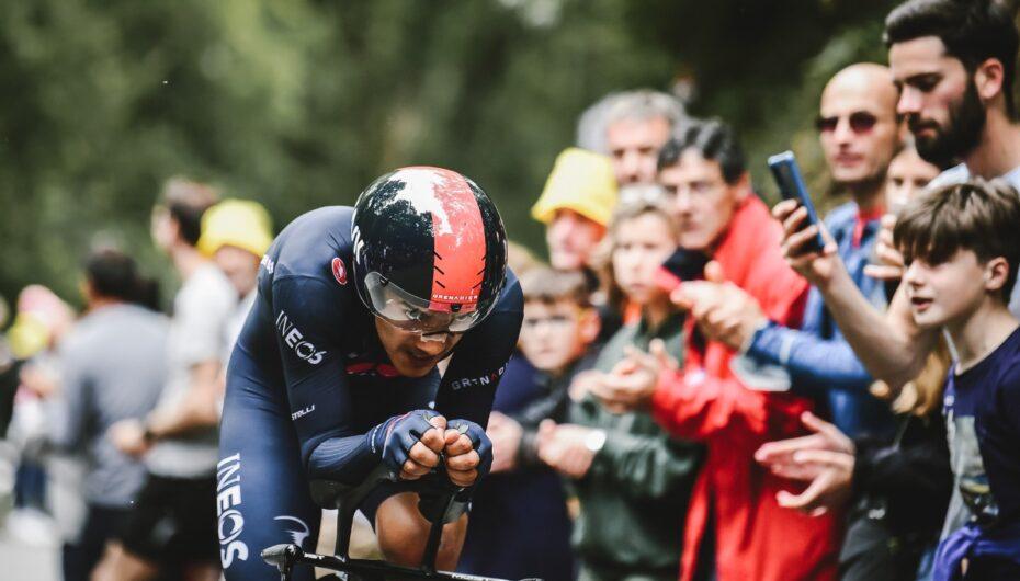 Carapaz cae al noveno lugar del Tour de Francia tras la prueba de Contrarreloj