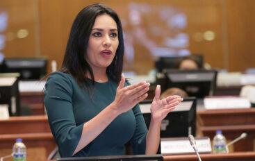 Jeannine Cruz es la Delegada del presidente para presidir el CORDICOM