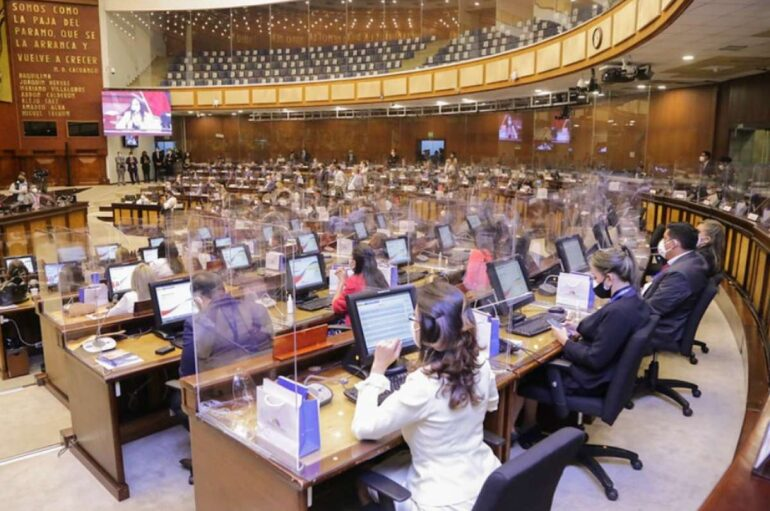 "Asamblea Nacional presentó su agenda parlametaria denominada ""Minga por la vida"""