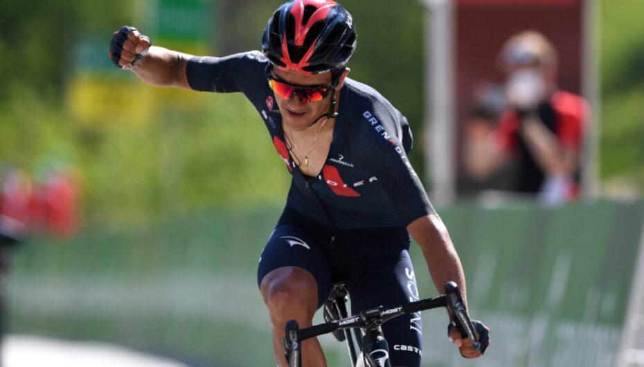 Carapaz séptimo mejor ciclista del mundo en ranking de la UCI