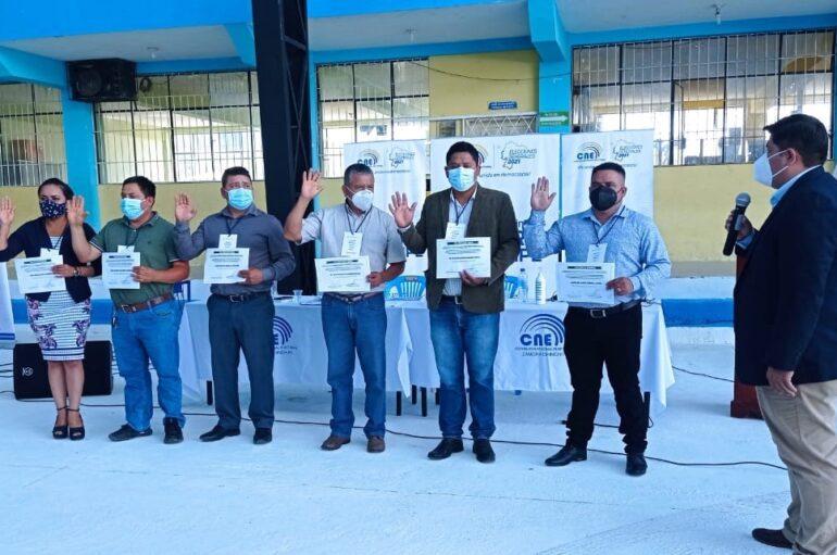 CONAGOPARE eligió a sus tres consejeros provinciales