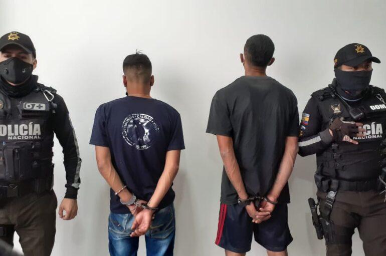 2 capturados por robo y agresión a pareja de jóvenes en Catamayo