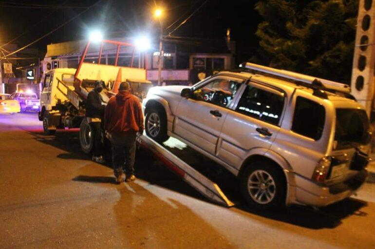 En operativos vehículos retenidos se registraron en Loja
