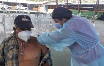 Vacunación covid-19 en recintos electorales de Catamayo