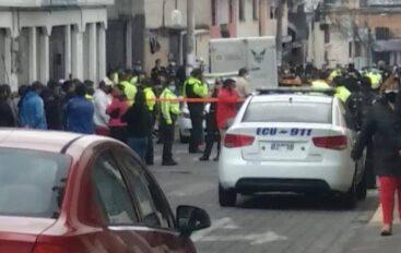 Asesinan a policía y otro quedó herido en un ataque ejecutado en Quito