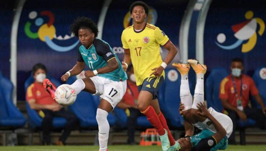 Ecuador debuta con derrota en la Copa América