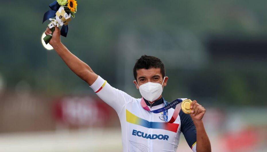 Richard Carapaz gana medalla de oro en los Juegos Olímpicos