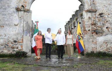 Presidentes de Ecuador y México fortalecen lazos de cooperación
