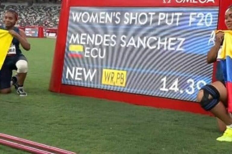 Las hermanas Poleth y Anaís Mendes Sánchez se subieron al podio paralímpico este domingo 29 de agosto