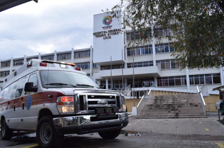 Hospital General Isidro Ayora de Loja registra cero pacientes covid-19