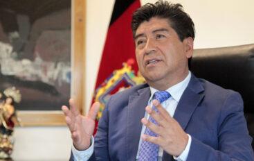 El juez del TCE resolvió rechazar la denuncia en contra de Jorge Yunda