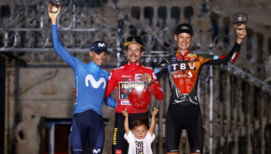 Primoz Roglic, tricampeón de la Vuelta a España