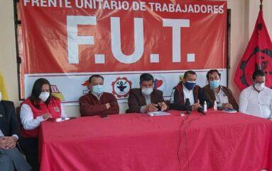 FUT convoca a nueva movilización para el 15 de septiembre