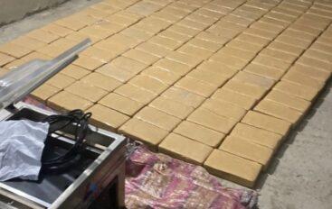 Dos detenidos por intentar ingresar 160 bloques de cocaína a penitenciaría